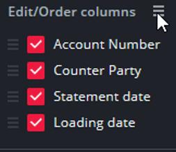 Edit columns